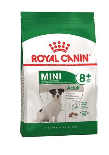 Royal canin mini adult +8 (4 KG)