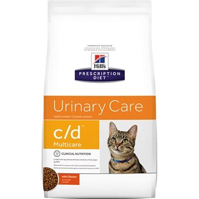 Hill's feline c/d multicare chicken (12X85 GR)