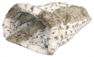 Trixie snuggle pouch leike beige wit (45X25X27 CM)