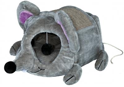 Trixie kattenmand lukas muis grijs / taupe (35X33X65 CM)