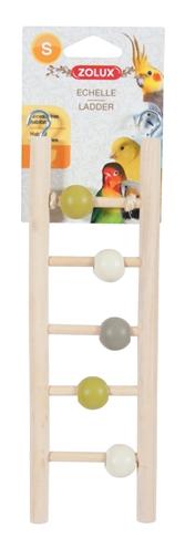Zolux ladder hout 5 treden met kralen (1X7X23,5 CM)