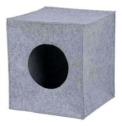 Trixie kattenmand iglo anton grijs (33X33X37 CM)