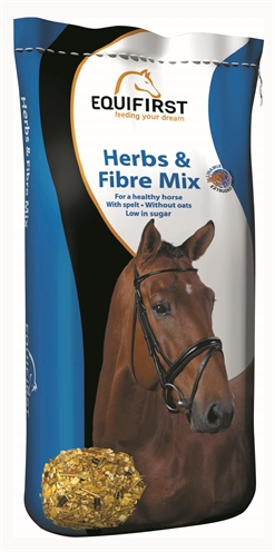 Equifirst herbs & fibre mix (20 KG)