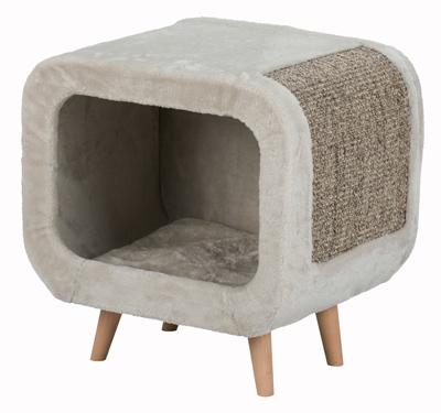 Trixie alicia relax huis lichtgrijs/grijs gemeleerd (48X48X38 CM)