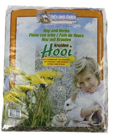 Pets own choice hooi paardebloem (500 GR)