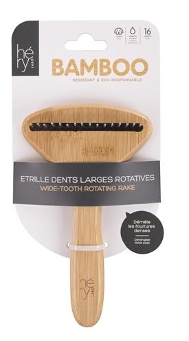 Hery labo roskam grof met roterende tanden bamboe