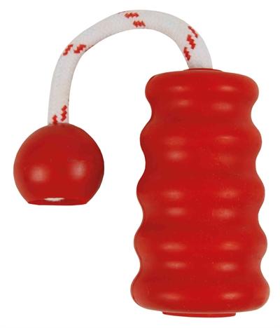 Trixie dog activity mot-fun aqua speelgoed drijvend rood (22X9 CM)
