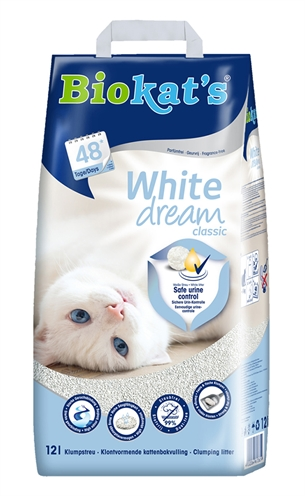 Biokat's white dream classic (12 LTR)