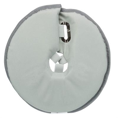 Trixie beschermkraag schuimrubber grijs (18-21X11 CM)