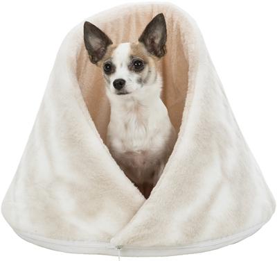 Trixie kattenmand iglo nelli wit / taupe (43X43X35 CM)