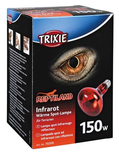 Trixie reptiland warmtelamp infrarood (150 WATT 9,5X9,5X13 CM)