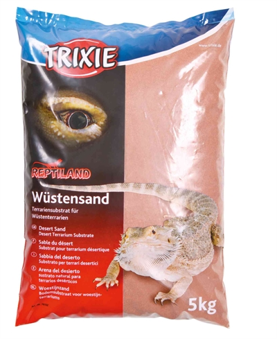 Trixie reptiland woestijnzand terraria rood (5 KG)