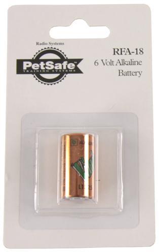Petsafe blafband batterij 6 volt