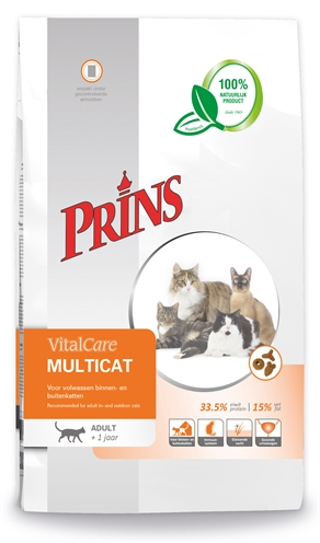 Prins cat vital care multicat (10 KG)